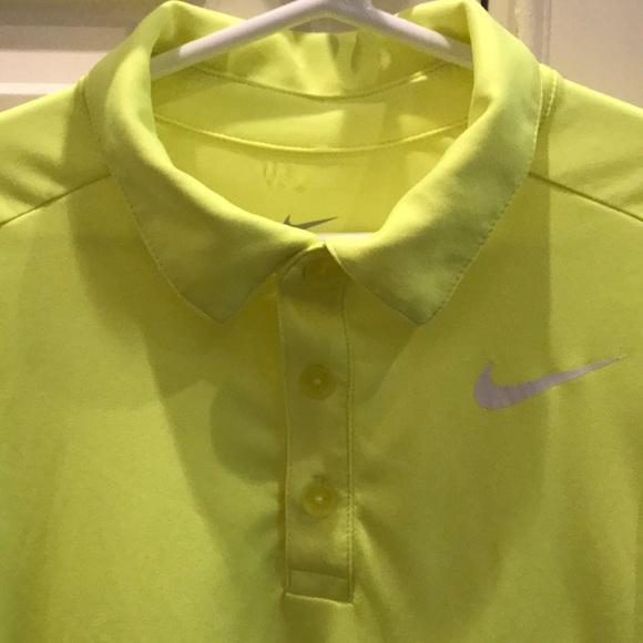 e1ad0d94 Nike Shirts & Tops | Drifit Neon Yellow Golf Shirt Size Youth M ...